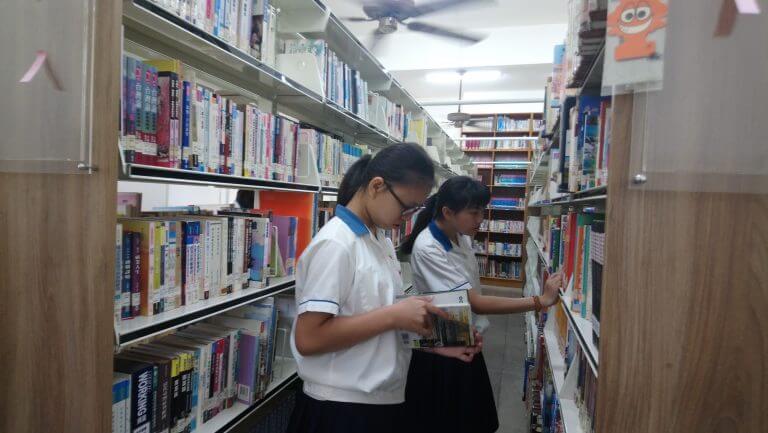 藏書豐富的書庫