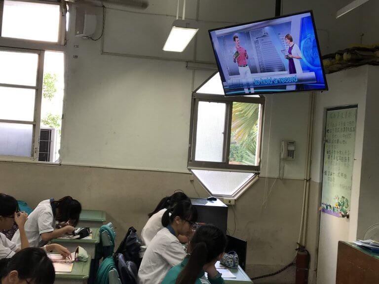 全校電視廣播教學系統