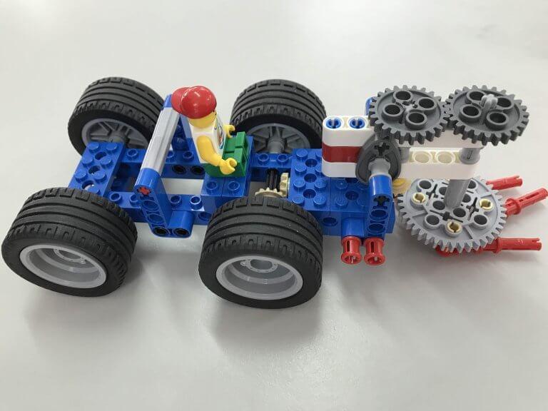 05掃街車-了解加速齒輪和減速齒輪原理與應用