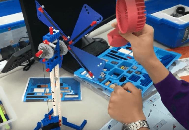 樂高動力機械-風車